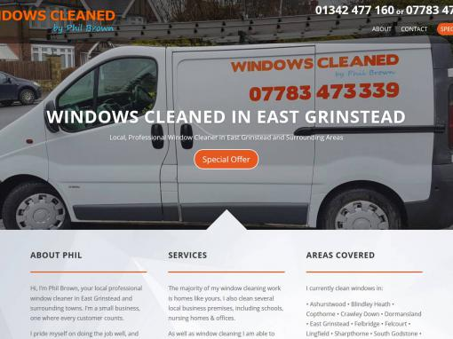 East Grinstead Window Cleaner