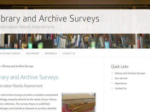 Library and Archive Surveys