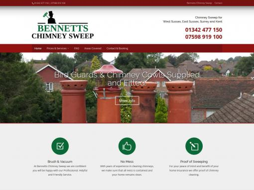 Bennett's Chimney Sweep